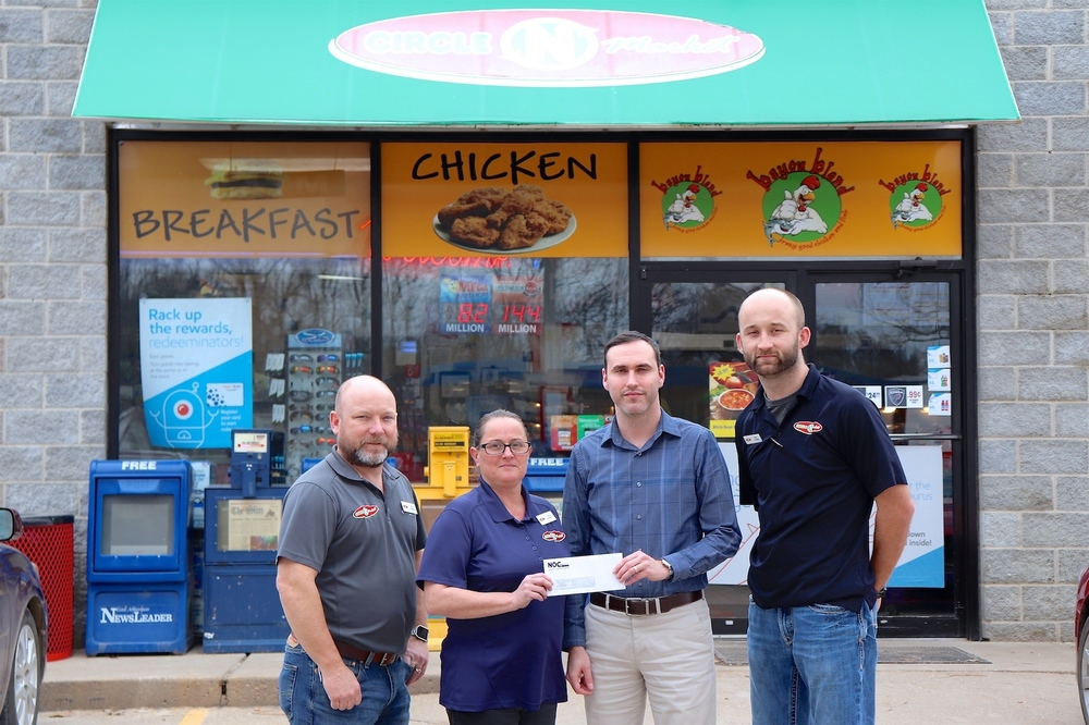 Circle 'N' Market Contributes $500 Grant to Cross County High School Through ExxonMobil's Educational Alliance Program