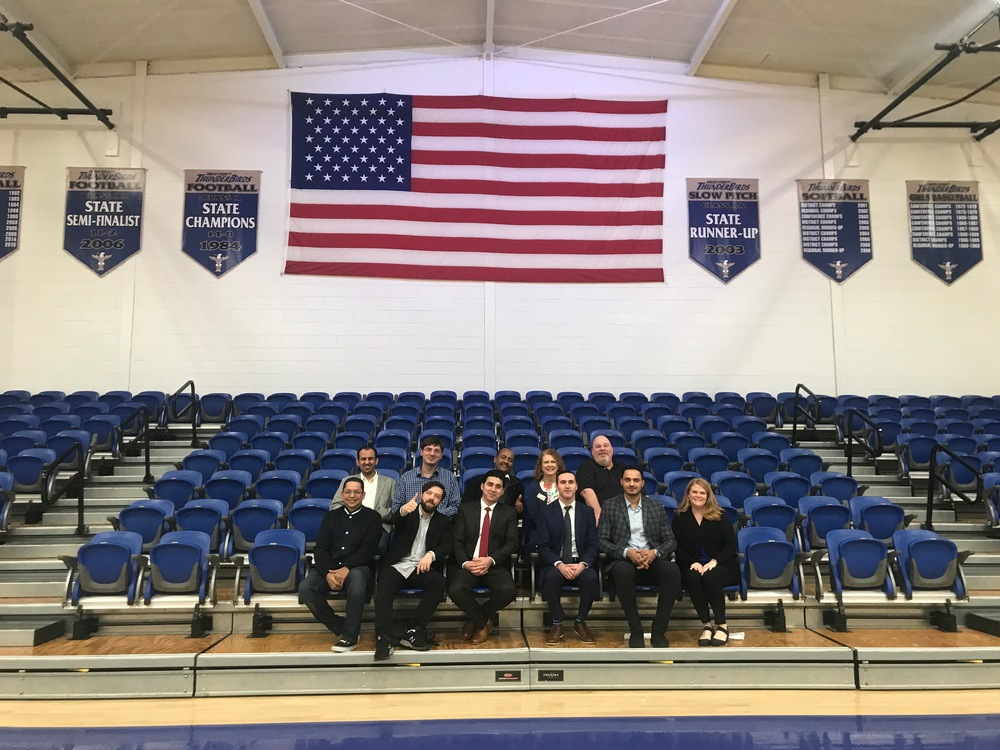 CCHS Hosts 7 International Dignitaries