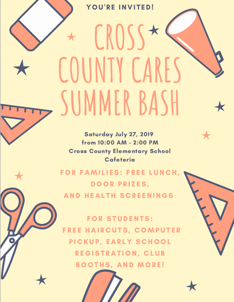 Cross County Cares Event this Saturday!